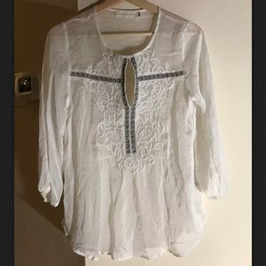 4 Love And Liberty By Johnny Was Silk Tunic